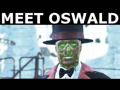 "Fallout 4 Nuka World - Meet Oswald The Outrageous - ""A Magical Kingdom"" Quest"