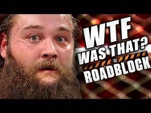 WWE Roadblock 2016 Review!