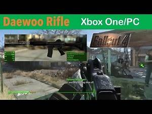 Fallout 4 Xbox One/PC Mods|Daewoo Rifle