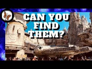 A Guide to Star Wars Millennium Falcon Smugglers Easter Eggs in Queue and View the Ride