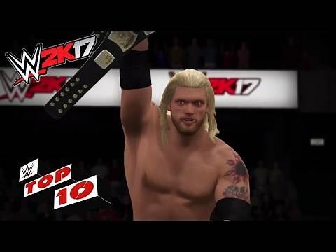 Stunning & Shocking Spears!: WWE 2K17 Top 10