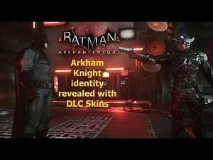 Batman Arkham Knight: Arkham Knight identity revealed with DLC Skins