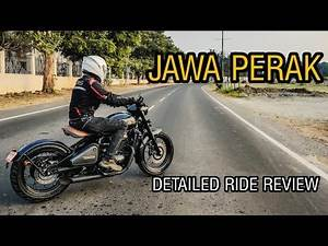 JAWA PERAK | DETAILED RIDE REVIEW | 0-100 TIME | MALAYALAM REVIEW | INDIAN BOBBER