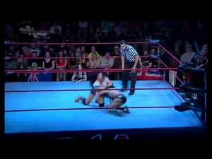 iMPACT Wreslting Xplosion 4/7/11 - Mickie James Vs. Rosita w/Sarita