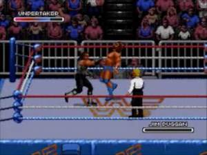 WWF Royal Rumble playthrough: The Undertaker (Mega Drive/Genesis) Part 2