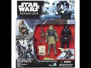 """Star Wars: Rogue One Rebel Commando Pao and Imperial Death Trooper 3.75"""" Action Figure Reviews"""