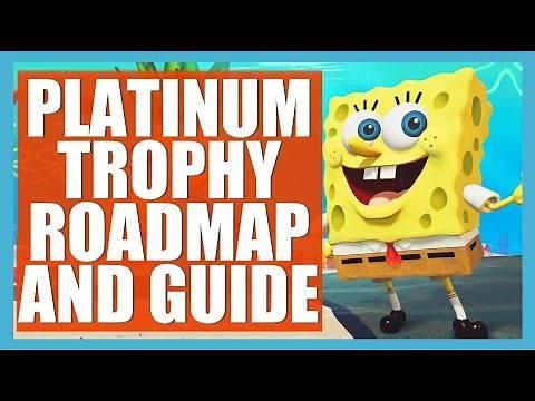 Trophy Guide and Platinum Roadmap for SpongeBob SquarePants Battle for Bikini Bottom Rehydrated PS4.