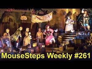 MouseSteps Weekly #261 Pirates of the Caribbean Changes; Disney Easter Egg Displays; Epcot; LEGOLAND
