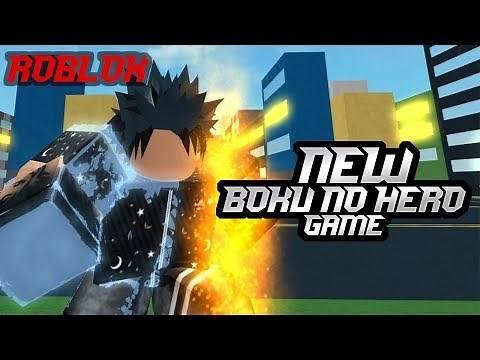 New-Wip Boku no hero game   Heroes Justice - Roblox