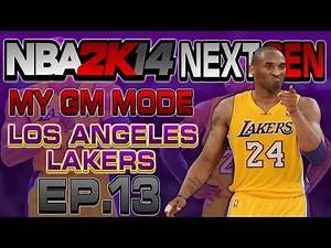 NBA 2K14 Next Gen My GM Mode Ep.13 - Los Angeles Lakers   Eric Bledsoe CRAZINESS   Xbox One Gameplay