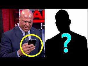 5 Rumored People Behind Kurt Angle Mystery Phone Message in WWE