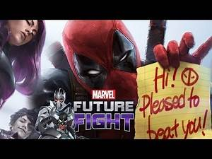Marvel: Future Fight - OMG DEADPOOL UPDATE! All New Characters