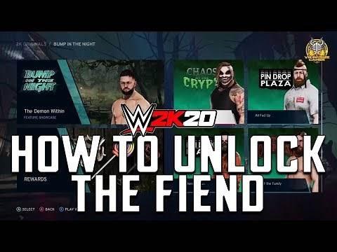 WWE 2K20: HOW TO UNLOCK THE FIEND