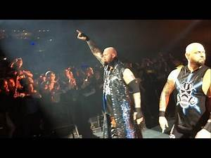 Luke Gallows and Karl Anderson entrance - WWE Mexico City 2016