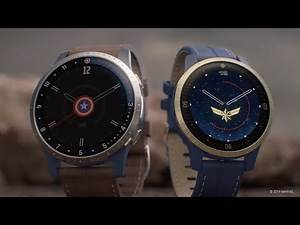 Garmin: Introducing the Captain Marvel and First Avenger Legacy Hero Series Smartwatches
