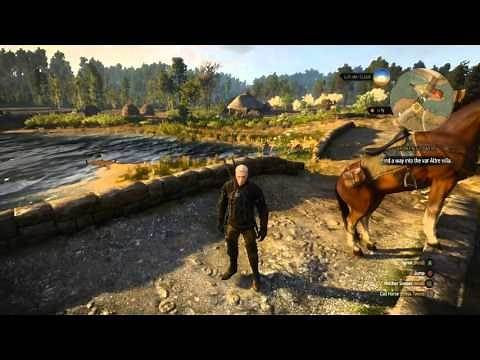 Witcher 3 Wild Hunt TEMERIAN Armor Set Location For Geralt and Roach Horse