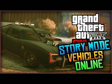 GTA 5 Glitches - How to Bring Story Mode Vehicles into GTA Online! (Tutorial)