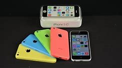 Apple iPhone 5c: Unboxing, Demo, & Benchmarks
