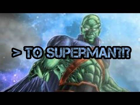 How strong is Martian Manhunter? (DC Comics)