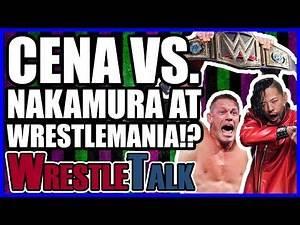 John Cena Vs. Shinsuke Nakamura TEASED For WWE WrestleMania 34?   Smackdown Live Feb. 26 2018 Review