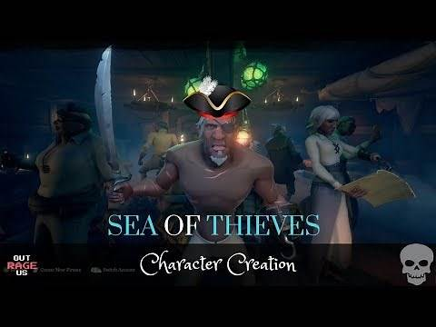 Sea of Thieves | Xbox One X | Character Customization