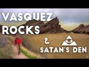 Vasquez Rocks & Satan's Den | Desert Hiking Los Angeles 4K