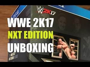 WWE 2K17 NXT Collector's Edition PS4 Unboxing (PlayStation 4)