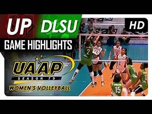 UP vs DLSU | Game Highlights | UAAP 79 WV | February 15, 2017