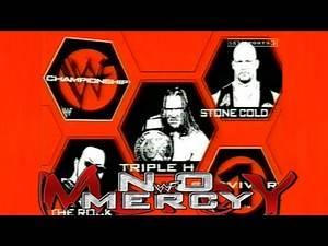 WWF Survivor Series 1999 (WWF No Mercy) Tribute!