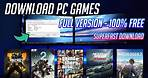 How to Download PC Games [Full Version] - FREE & High Speed Site 100% Working