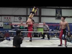 International Tag Team Match Featuring Team Mexico vs Team USA