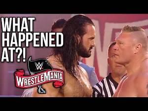 What Happened At WWE WrestleMania 36: Night 2?!