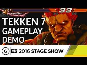 Tekken 7's Arcade Roots for both Hardcore and Casual Fans - E3 2016 Stage Show