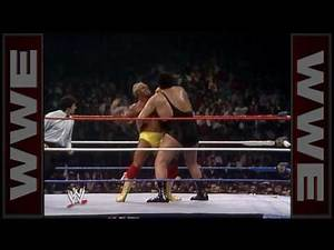 Hulk Hogan VS Andre The Giant- Wrestlemania III