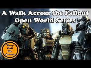 A Time lapse walk Across All the Fallout games, Fallout 3, New Vegas & Fallout 4