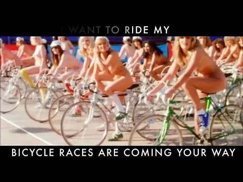 Queen - Bicycle Race (Official Lyric Video)