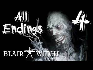 Blair Witch - We Enter the House... ( ALL ENDINGS ) Manly Let's Play [ 4 ]