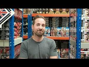 TOY HUNT!!! | Rich Shows Us The Wrestling Shop Warehouse!!! | WWE Mattel Figure Shopping Fun #58