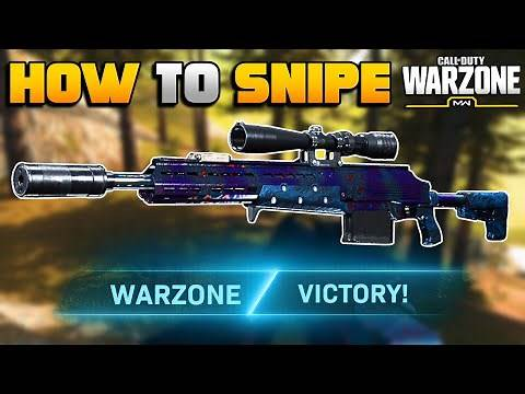 How to Snipe in WARZONE | Modern Warfare BR Tips and Tricks | JGOD
