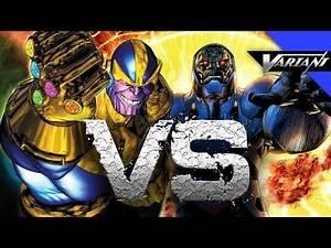 Darkseid VS Thanos: Epic Battle!