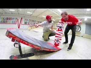 The WORST Launch Ramp Ever! / YOU MUST SKATE IT!