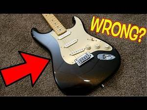 Did You Get Wrong Pickups in Your Ultra Strat? | 2019 American Ultra Stratocaster Texas Tea | Review