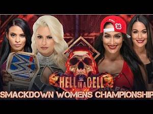 WWE 2K18 Hell In a Cell: Nikki Bella vs Maryse Smackdown Women's Championship