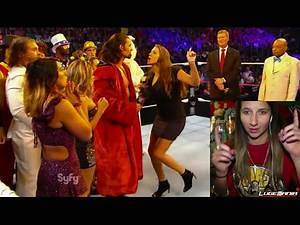 WWE Smackdown 10/10/14 Adam Rose INTERRUPTS Stephanie McMahon Live Commentary