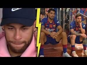 What Lionel Messi & Luis suarez said to Neymar before he left Barcelona? | MrMatador