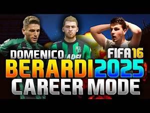 FIFA 16 | DOMENICO BERARDI IN 2025!!! (CAREER MODE)