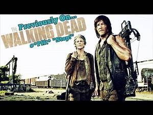 Previously On The Walking Dead #Pfft Stop