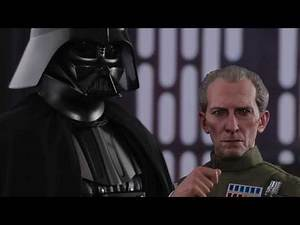Hot Toys Star Wars Grand Moff Tarkin and Darth Vader Sixth Scale Figure Set Pre Order