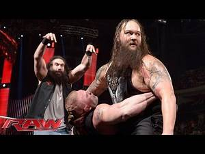 """Tensions rise as Roman Reigns and Brock Lesnar appear on """"The Highlight Reel"""": Raw, January 18, 2016"""