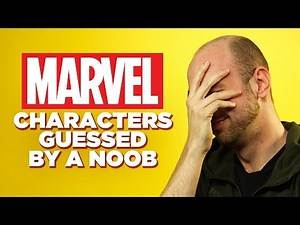 Can a Comic Book Noob Guess These Marvel Characters?